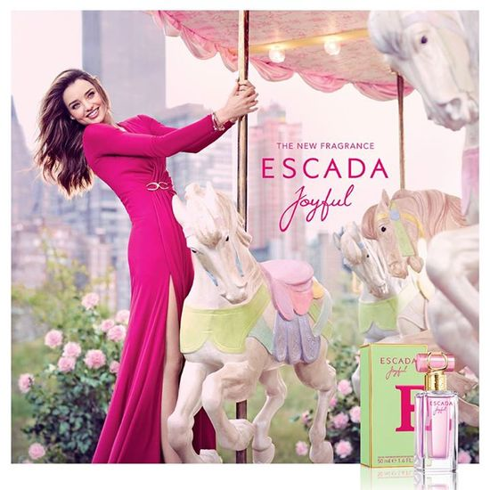 Miranda Kerr w kampanii perfum Escada! (VIDEO)