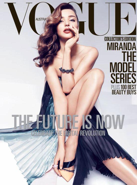 Miranda Kerr gwiazdą kwietniowego Vogue Australia