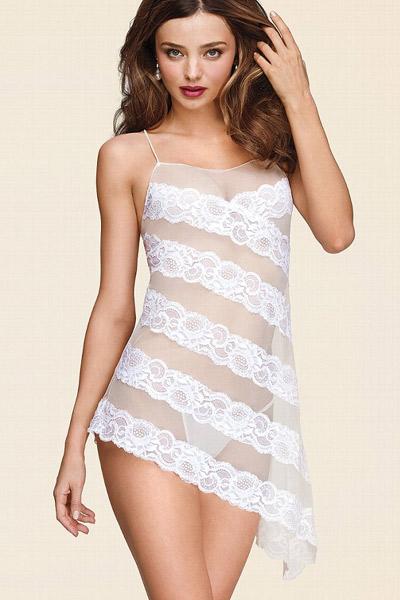 Miranda Kerr w ślubnej kolekcji Victoria's Secret 2013