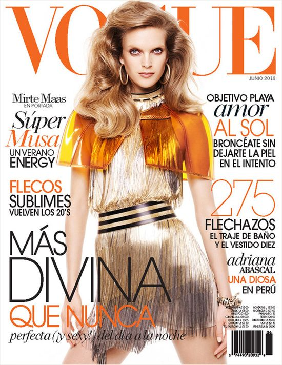 Cztery okładki letniego Vogue'a (FOTO)