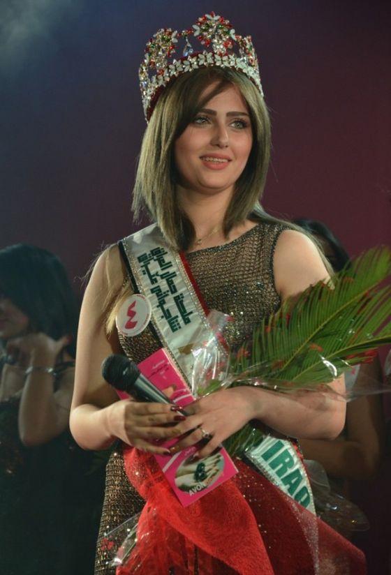 Pierwszy raz od 40 lat wybrano Miss Iraku! (VIDEO)