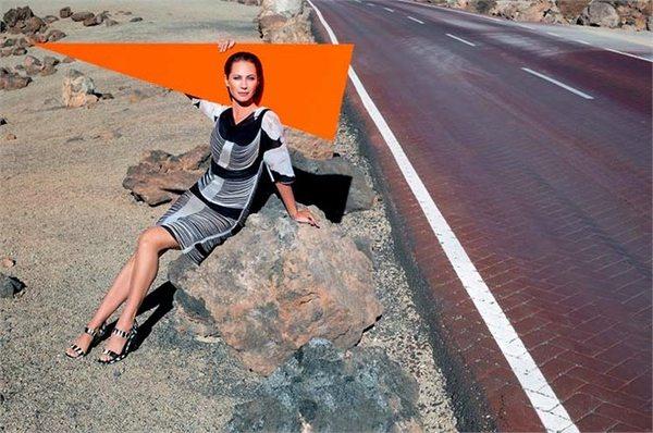 Christy Turlington w kampanii Missoni