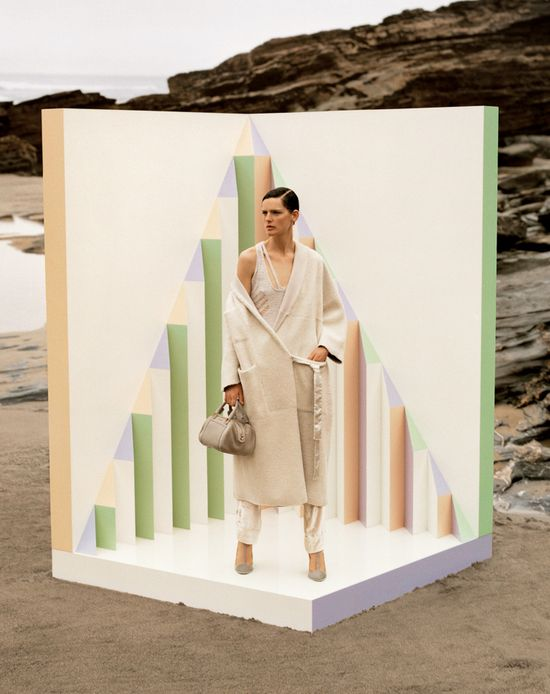 Stella Tennant & Paul Sculfor dla Missoni jesień-zima 2013