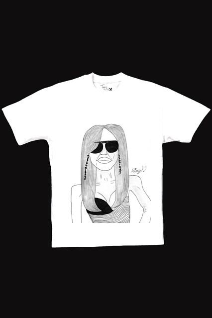 Missy X: 12-latka, która ma swoją linię T-shirtów