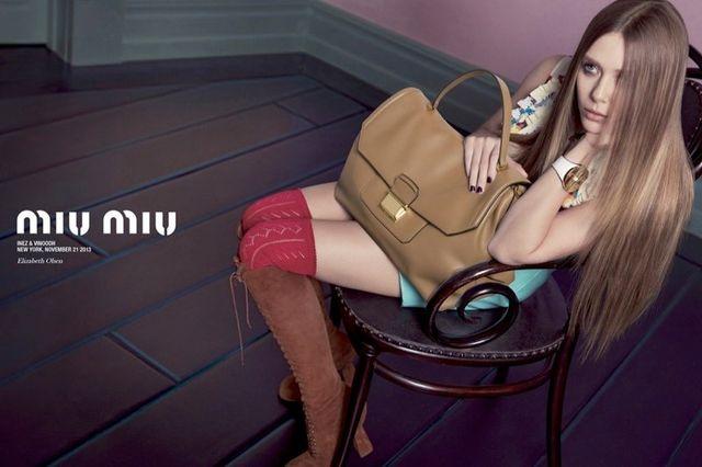 Nowa kampania Miu Miu z aktorkami w roli modelek (FOTO)