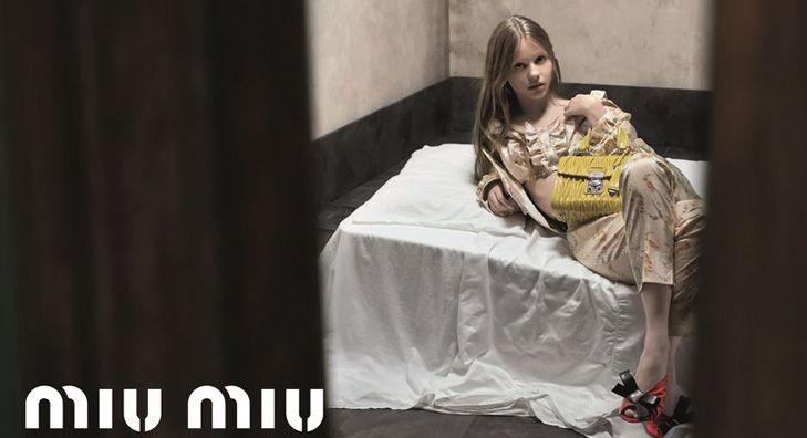 Ta reklama Miu Miu została zakazana - zgadniecie dlaczego?