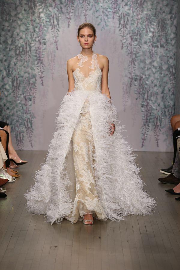 Suknie ślubne na jesień 2016 od Monique Lhuillier (FOTO)