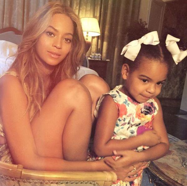 Pamiętacie apel fanów do Beyonce aby czesała włosy Blue Ivy?