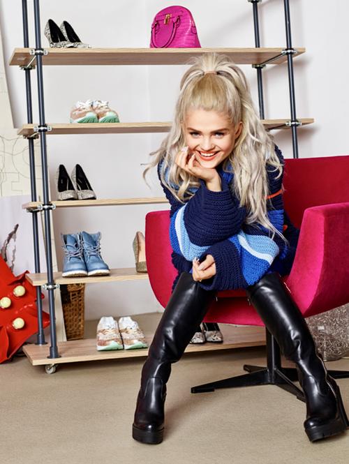 Margaret dla Deichmann - buty i torebki na jesień 2015