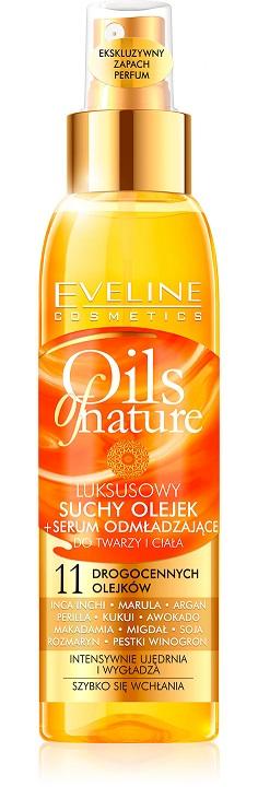 Suchy Olejek + Serum Odmładzające nowość od Eveline