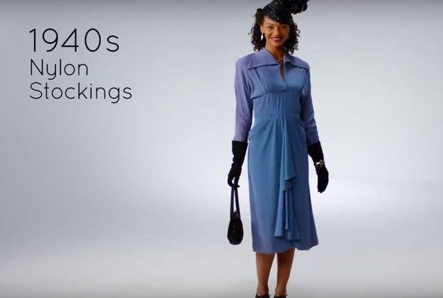 100 lat modowych rewolucji w 3 minuty (VIDEO)