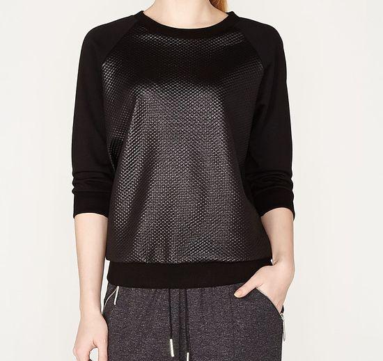 Przegląd sieciówek - bluzy bez kaptura (FOTO)