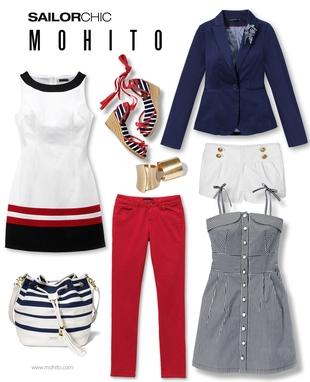 Kolekcja Mohito Sailor Chick (FOTO)