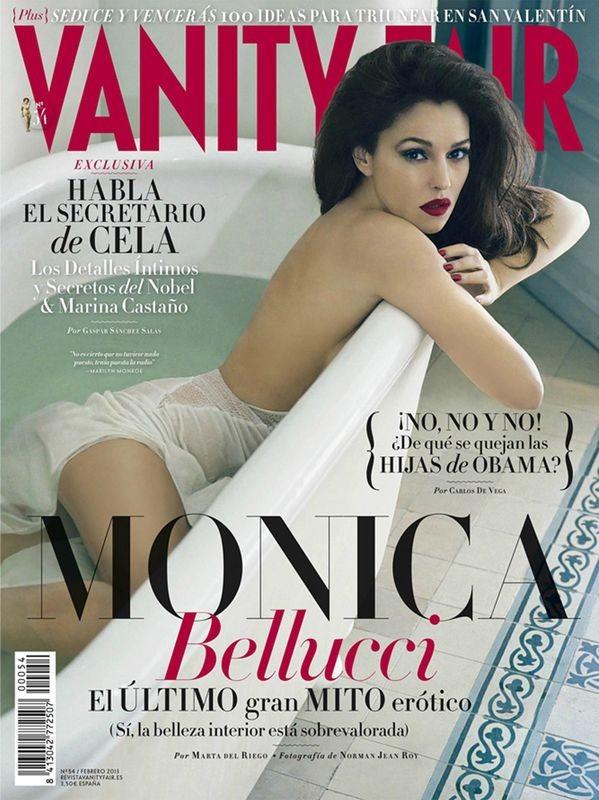 Monica Bellucci w Vanity Fair