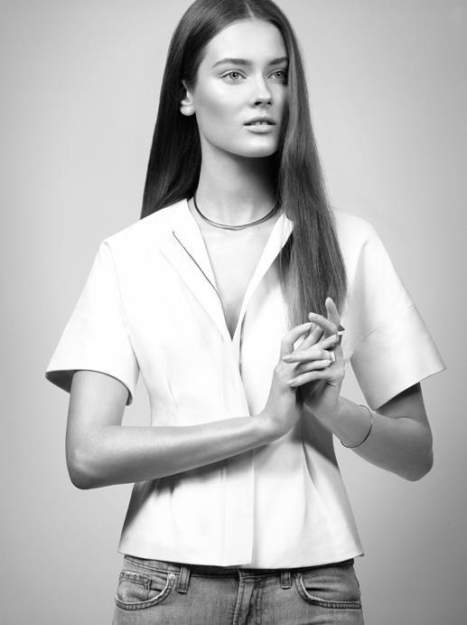 Monika Jagaciak dla J Brand (FOTO)