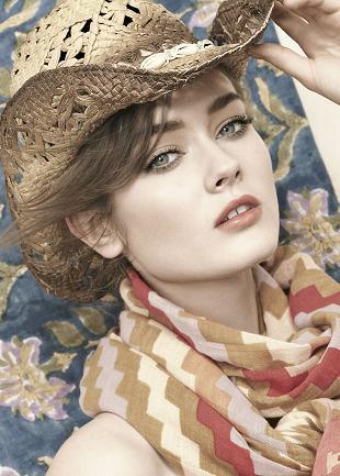 Monika Jagaciak w wiosennym katalogu Neiman Marcus