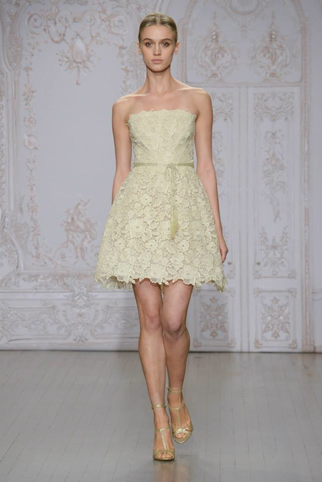 Jesienna kolekcje sukien ślubnych od Monique Lhuillier