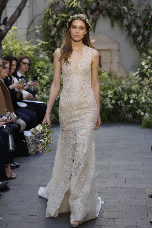 Monique Lhuillier - cudowne suknie ślubne na wiosnę 2017 (FOTO)