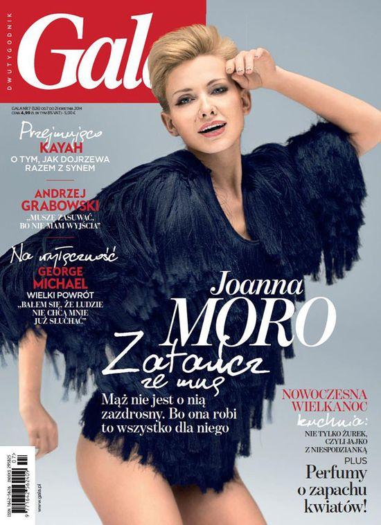 Joanna Moro na dwóch okładkach! (FOTO)