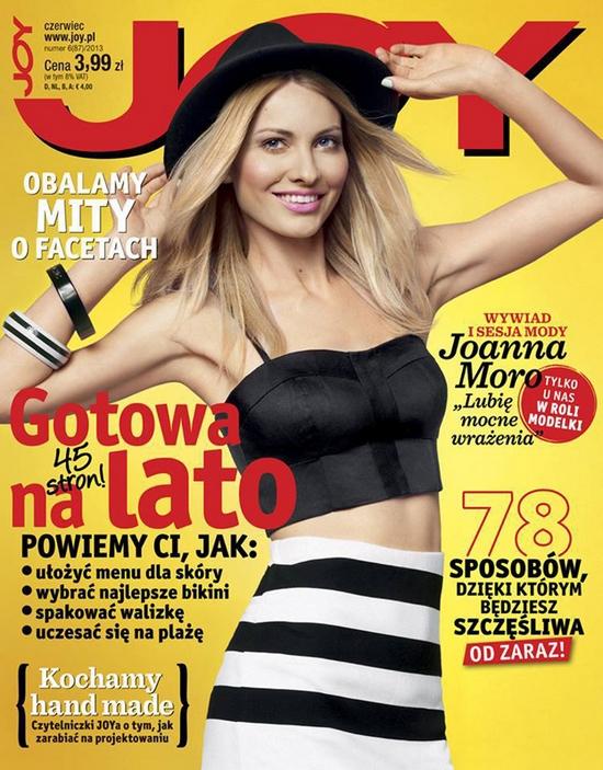 Joanna Moro gwiazdą najnowszego JOY'a (FOTO)