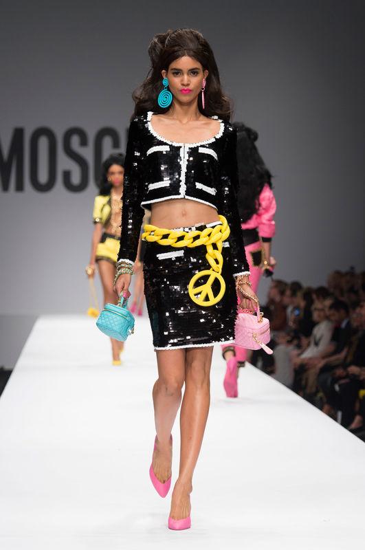 Barbie gwiazdą pokazu Moschino! (FOTO)