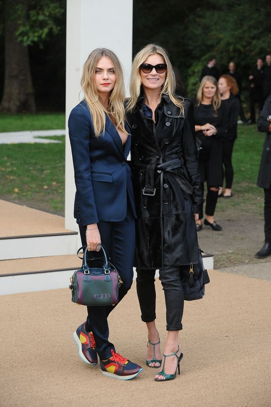 Cara Delevingne i Kate Moss - jak siostry? (FOTO)