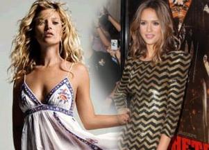 Kate Moss, Jessica Alba - idealne proporcje?