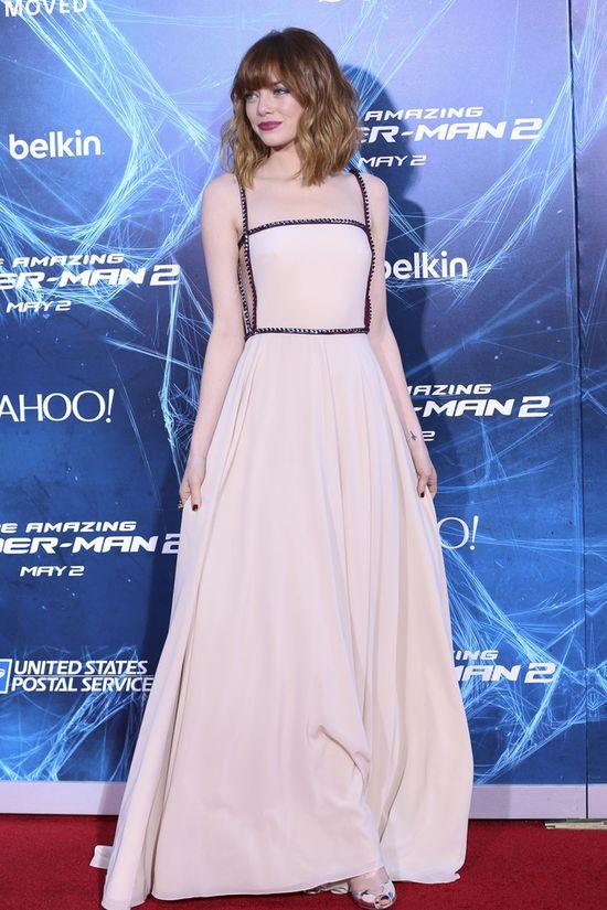 Emma Stone zachwyciła w sukience od Prady (FOTO)