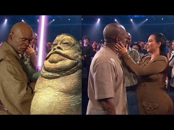 Kim Kardashian na VMA 2015 - świat się śmieje