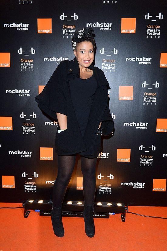 Marta Żmuda-Trzebiatowska i Kazadi na koncercie Beyonce