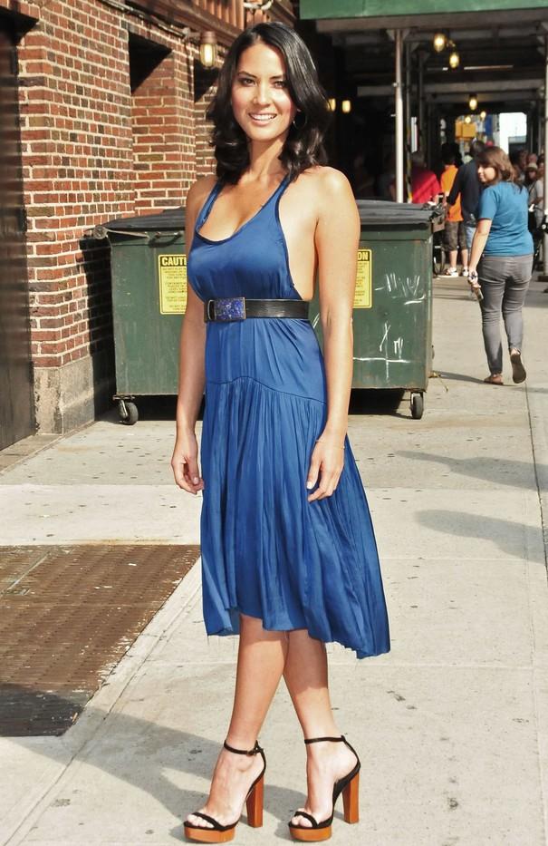 Olivia Munn w dwóch stylizacjach