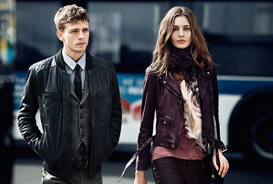 Nadja Bender i Benjamin Eidem w kampanii Boss Orange