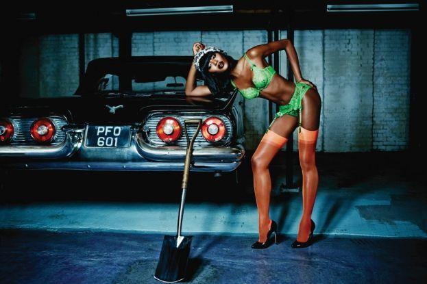 Naomi Campbell w kampanii Agent Provocateur (FOTO)