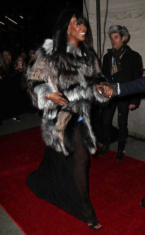 Naomi Campbell pokazała światu coś, czego pokazać nie chciał