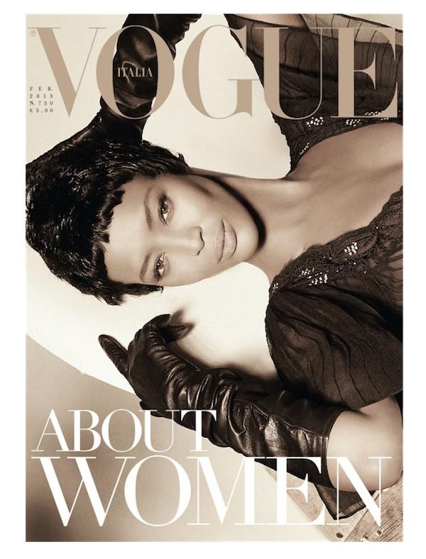Naomi Campbell dla Vogue Italia