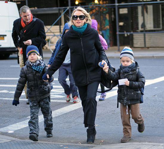 Kerr, Kardashian i Watts - znane mamy na co dzień (FOTO)