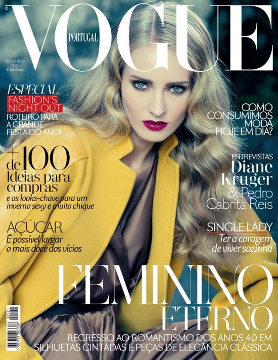 Natalia Uliasz na wrześniowej okładce Vogue Portugal