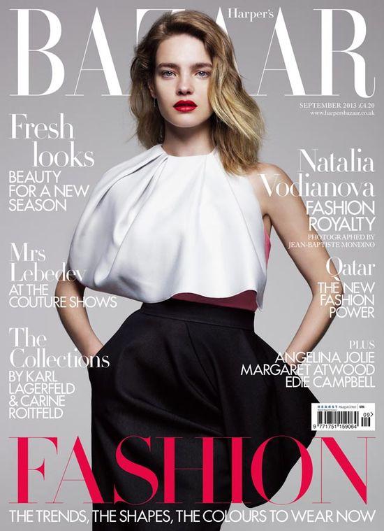 Sarah Jessica Parker i Natalia Vodianova w Harper's Bazaar