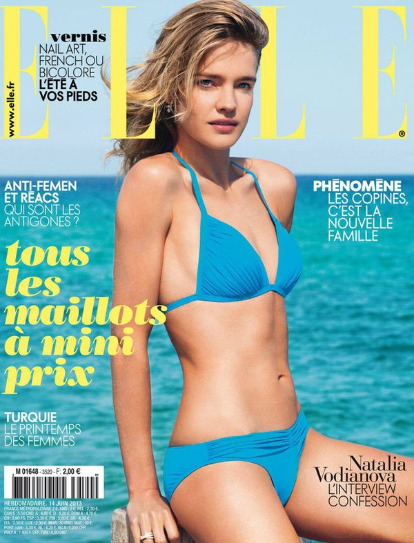 Natalia Vodianova raz jeszcze dla Elle
