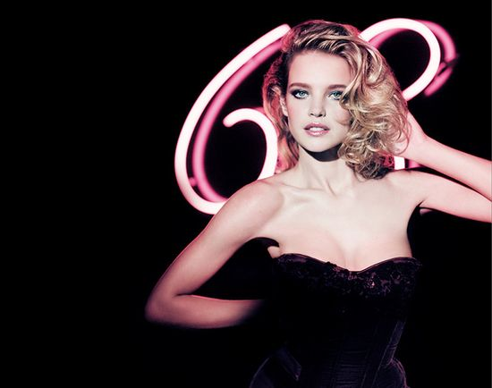 Natalia Vodianova for Guerlain Crazy Paris Holiday 2013