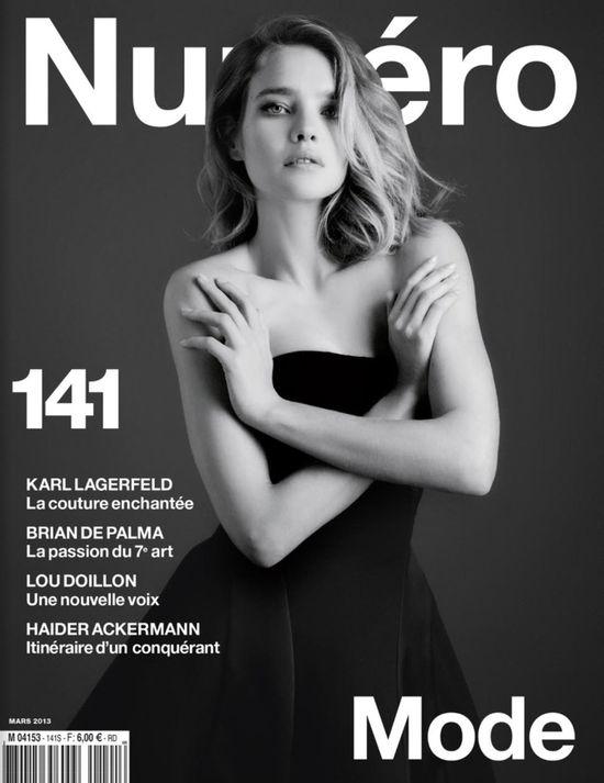 Natalia Vodianova na trzech okładkach magazynu Numero