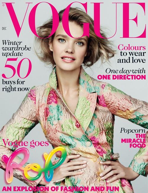 Natalia Vodianova na kolejnej okładce Vogue