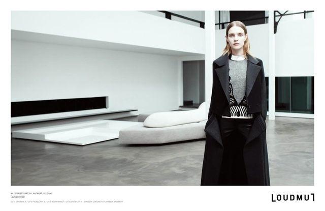 Natalia Vodianova w surowej kampanii Loudmut  (FOTO)