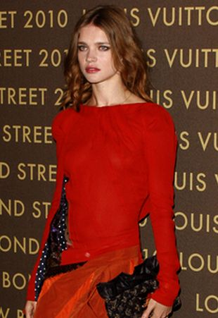 Natalia Vodianova w Louis Vuitton