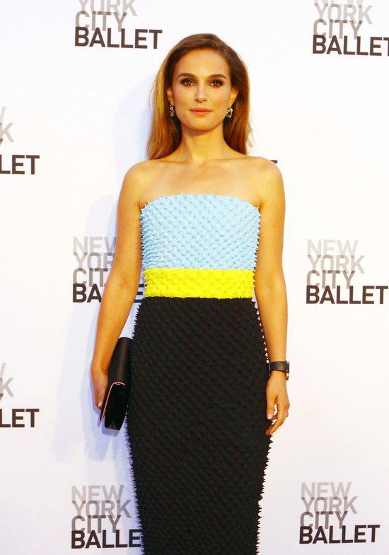 Natalie Portman w sukni Christiana Diora