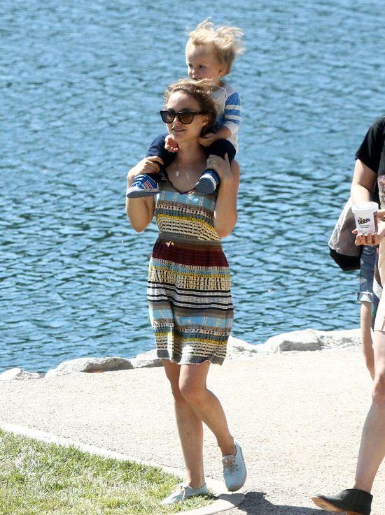 Natalie Portman w letniej sukience