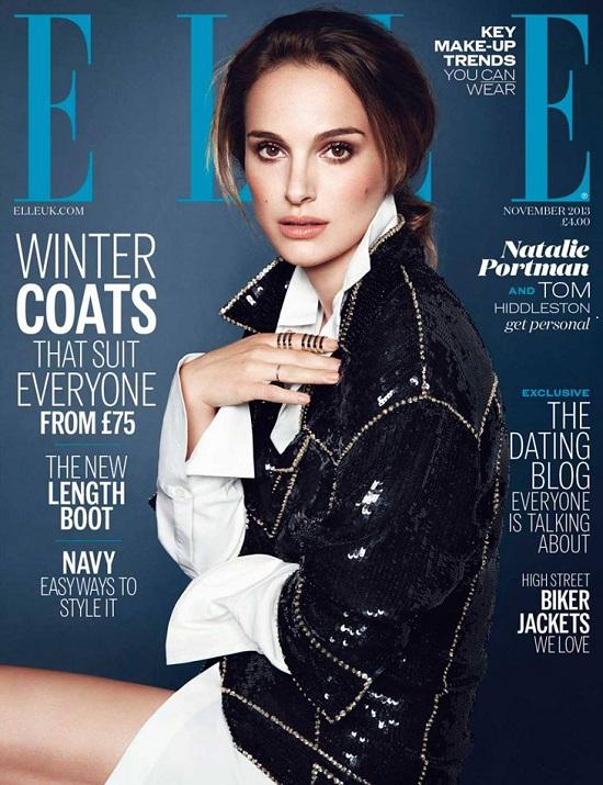 Natalie Portman na okładce listopadowego Elle