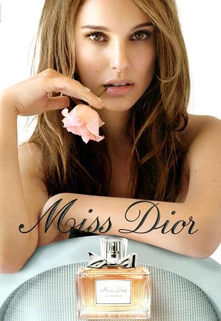 Natalie Portman w kampanii Miss Dior na wiosnę