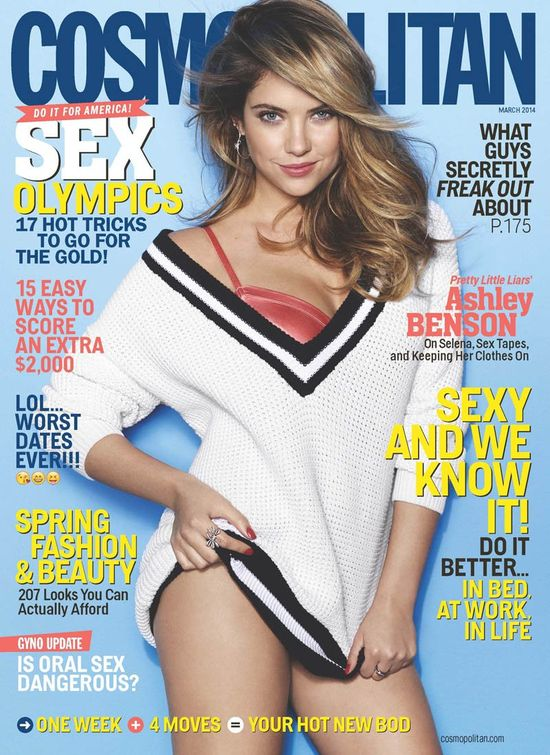Ashley Benson i Naya Rivera na okładkach Cosmo (FOTO)