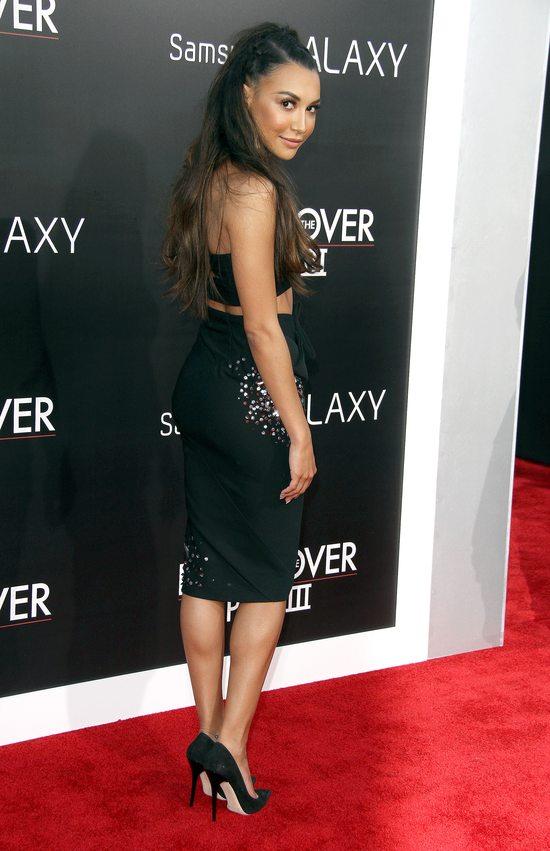 Seksowna Naya Rivera w zestawie od Donny Karan (FOTO)